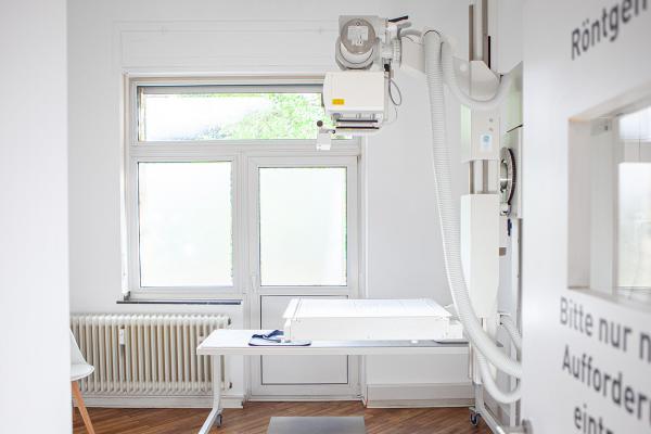 Orthopädie am Rhein - Knochendichtemessung